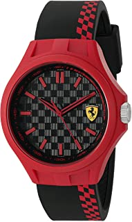 Ferrari Men's Quartz Multi Color Casual Watch (Model: 0830327)