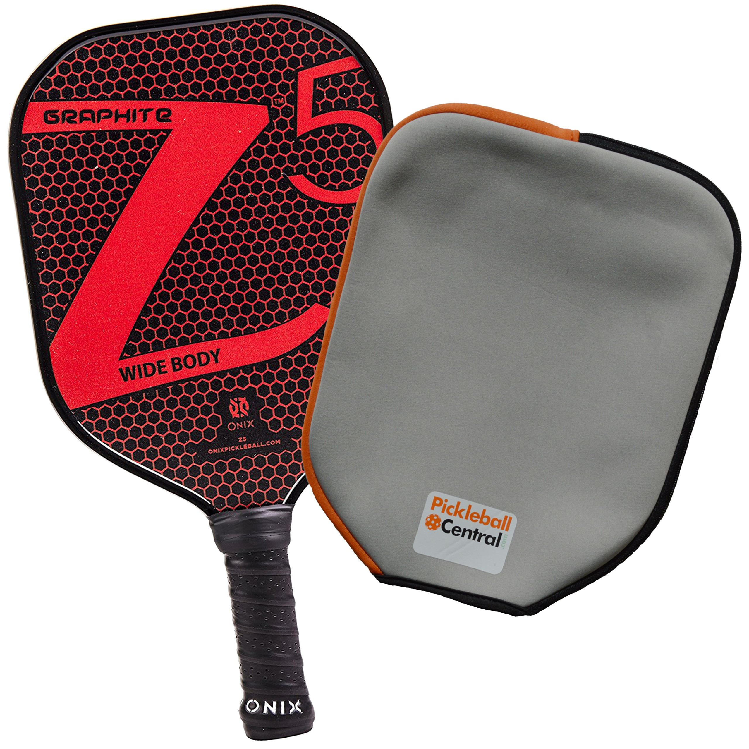 Onix Z5 Graphite Pickleball Paddle and Paddle Cover -8L7L