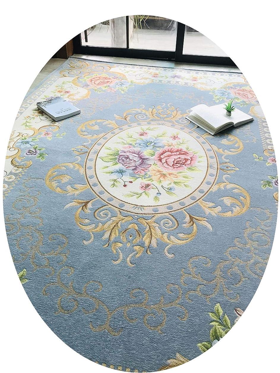 トーン畝間今までカーペットのバスルームのリビングルームのカーペットフロアマットドアマットホームマット形ポーチ,水色,60*90