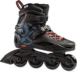 Rollerblade RB Cruiser Unisex Adult Fitness Inline Skate, Black and Grey Blue, Urban Performance Inline Skates