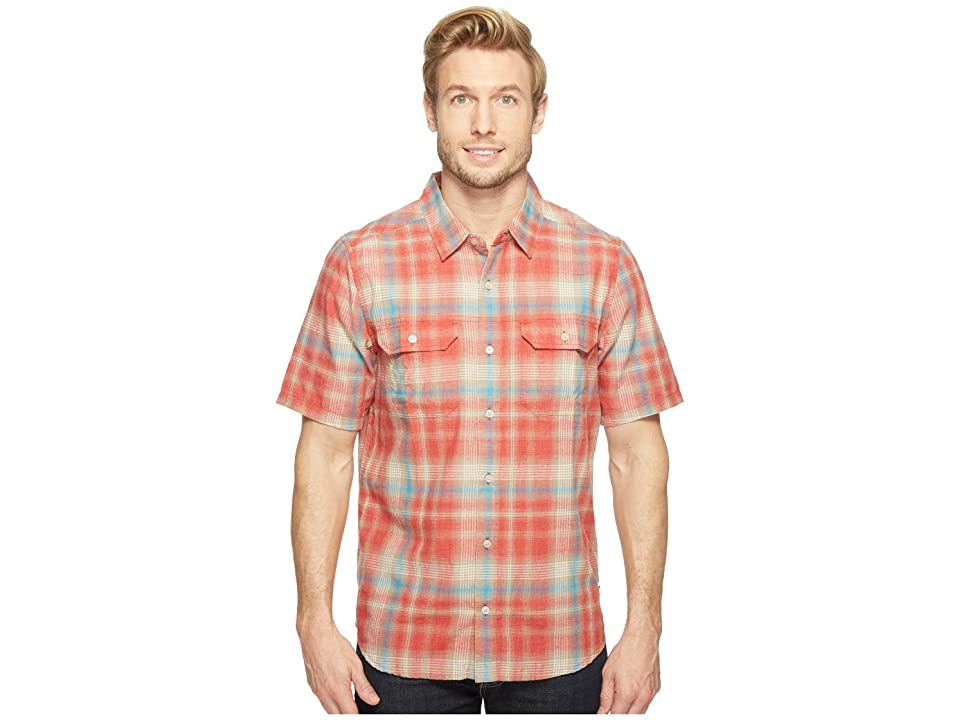 Toad&Co Hookline Short Sleeve Shirt (Red Clay) Men