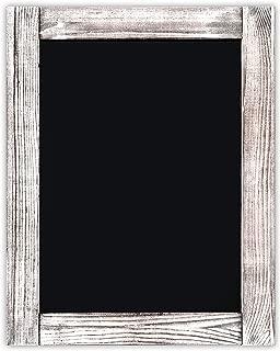 Chalkboard | Magnetic, Non-Porous | Vintage Decor | Whitewash Finish | Chalk Board for Wedding, Kitchen, Bar, Restaurant, Menu & Home | Chalkboard Sign | 11 x 14 inches | Wall Mounted Chalkboard