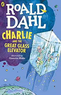 Charlie and the Great Glass Elevator by Roald Dahl - Paperback