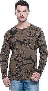 Alan Jones Men's Cotton Full Sleeves Printed T-Shirt