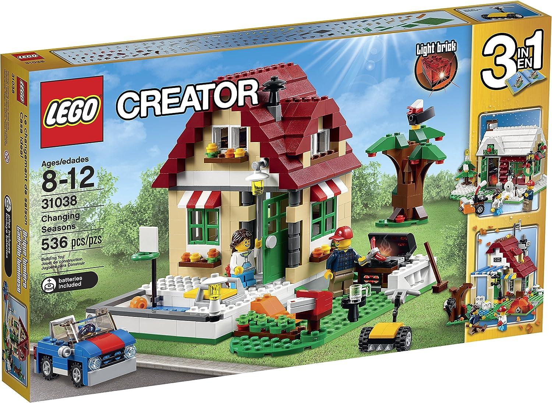 mejor oferta LEGO Creator 31038 31038 31038 Changing Seasons Building Kit by LEGO  el más barato