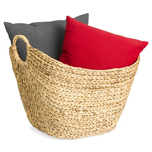 Large Wicker Baskets with Handles: Amazon.com