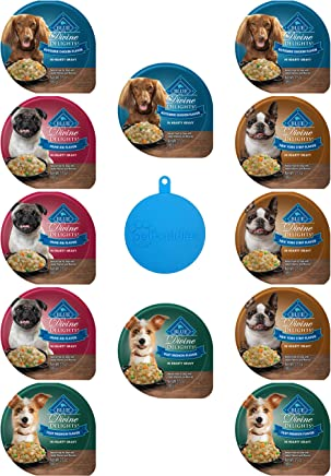 Blue Buffalo Divine Delights Dog Food in 4 Flavors - New York Strip, Rotisserie Chicken