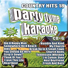 Party Tyme Country Hits 18 16-song G