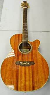 Best Takamine Pro Series EF508KC NEX All Koa Acoustic Electric Guitar, Natural with Case Review