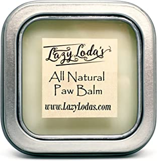 Lazy Loda's All Natural Dog Paw, Nose, and Skin Balm, 3 oz | Moisturizer and Softener for Your Dog's Dry, Rough, or Flaky Pads, Elbows, and Nose | Handmade with Love by Stephanie
