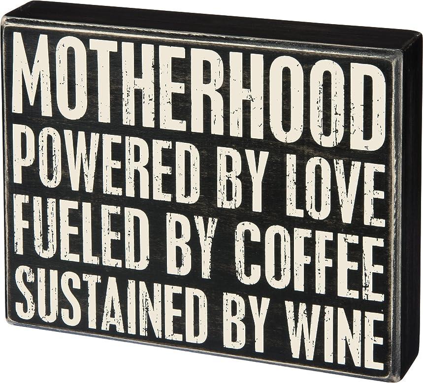 Motherhood Box Sign