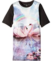 Stella McCartney Kids - Hepsie Rainbow and Swan Jersey Dress (Toddler/Little Kids/Big Kids)