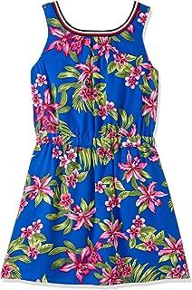 TOMMY HILFIGER Kids Girls 3-7 Erica Dress Slvls Surf The Web/Print, Surf The Web/Print, 6