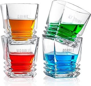Premium Crystal 9 Oz. Whisky Glasses Set of 4   Fun