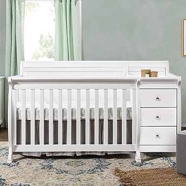 DaVinci Kalani 4-in-1 Convertible Crib & Changer In White