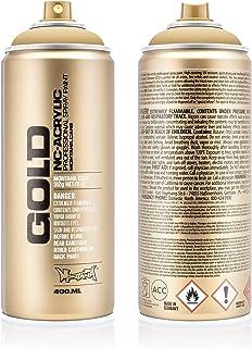 Montana Cans 285394 Spray Oro, gld400, 8020, 400 ml, Color B