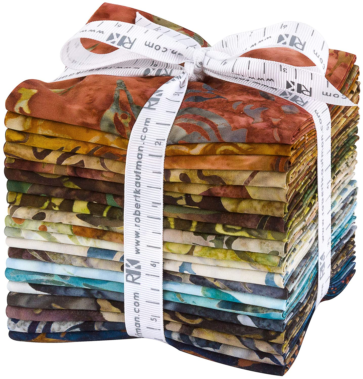 Lunn Studios Artisan Batiks Wildlife Sanctuary 5 20 Fat Quarters Robert Kaufman Fabrics FQ-1446-20