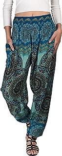Bohemian Tapered Elephant Harem Loose Yoga Travel Lounge Pants