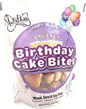 The Lazy Dog Cookie Co.., Birthday Cake Bites Dog Treats, Wheat Free, Corn Free, Soy Free, Made in USA, 5 oz Resealable Pouch