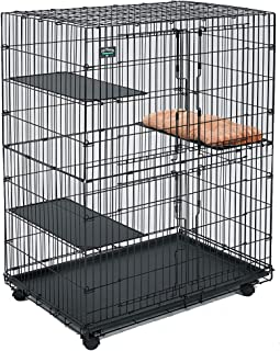 Midwest Cat Playpen | Cat Cage Includes 3 Adjustable Perching Shelves & 1..