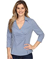 NYDJ - Gingham Shirting Fit Solution