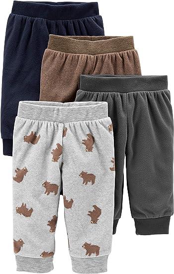 Simple Joys By Carter S Juego De 4 Pantalones Para Bebe Amazon Com Mx Ropa Zapatos Y Accesorios
