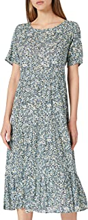 Only womens Onlabigail Life S/S Midi Dress Wvn Noos Kleid