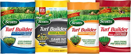 Scotts Lawn Care Plan Northern Small Yard, 5,000 sq. ft.