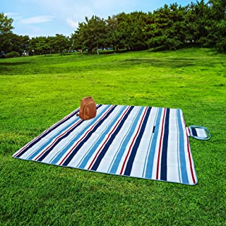 Extra Large Picnic & Outdoor Blanket with Waterproof Backing