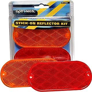 Optronics RE37ABP Amber Rectangular Reflector