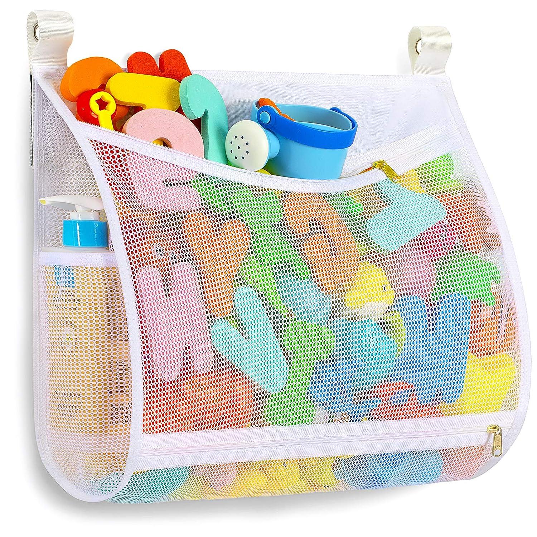 Baby Bath Toy Organizer Machine 25% OFF Multiple-Suspensi mart with Washable