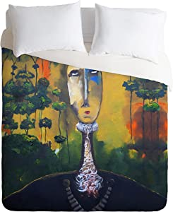 Deny Designs  Robin Faye Gates Forest For Trees Duvet Cover, King