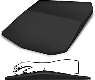 Soundance Ergonomic Mouse Pad with Wrist Support, Comfortable Mouse Pad, Entire Memory Foam with Non-Slip PU Base for Comp...
