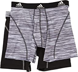 adidas - Sport Performance Climalite Graphic 2-Pack Boxer Brief