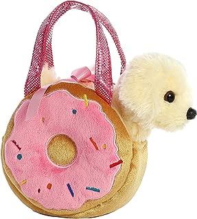 Aurora World Fancy Pals Pet Carrier Yummy Donut & Puppy Plush
