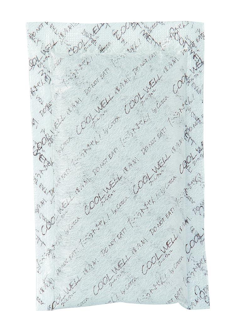 病者表面的なブローホールcotta(コッタ) 保冷剤 クールウェル 不織布 30g 100×60mm 330個 070001