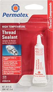 Best Permatex 59214 High Temperature Thread Sealant, 6 ml Tube, Pack of 1 Review