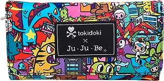 JuJuBe Be Rich Tri-Fold Wallet with Snap Enclosure, Tokidoki Collection - Kaiju City