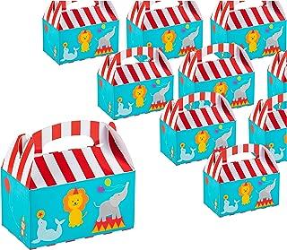 dise/ño de tienda de donas para cumplea/ños y eventos 6 x 3.3 x 3.6 pulgadas 2 docenas de cajas de fiesta Paquete de 24 cajas de regalo de papel para fiestas Cajas de dulces