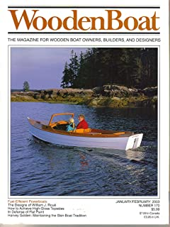 WoodenBoat (Wooden Boat) Magazine, No. 170, (January February, 2003) (ISSN: 0095-067X)