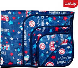 Luvlap Newborn Baby Soft Swaddling Blanket, Blue Cars (80cm x 100cm)