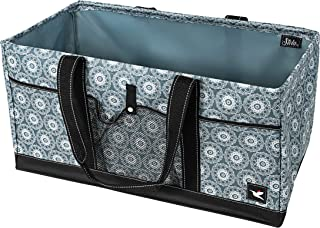 Stola Extra Large Utility Tote with Wire Frame (3 Exterior Pockets)