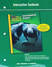 Holt Science & Technology: Interactive Textbook (E) Environmental Science