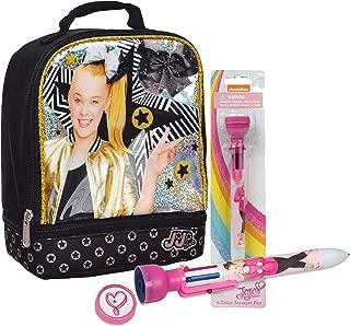 Jojo Siwa Dual Compartment Insulated Lunch Box! Plus JoJo Siwa 6 Color Stamper Pen!