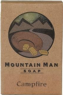 Mountain Man Soap Campfire Smoke Scent - 8 oz Bar