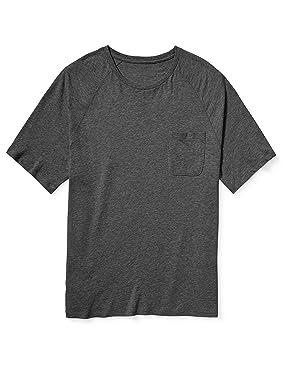 Amazon Essentials Men's Big & Tall Short-Sleeve Slub Raglan Crew T-Shirt fit by DXL