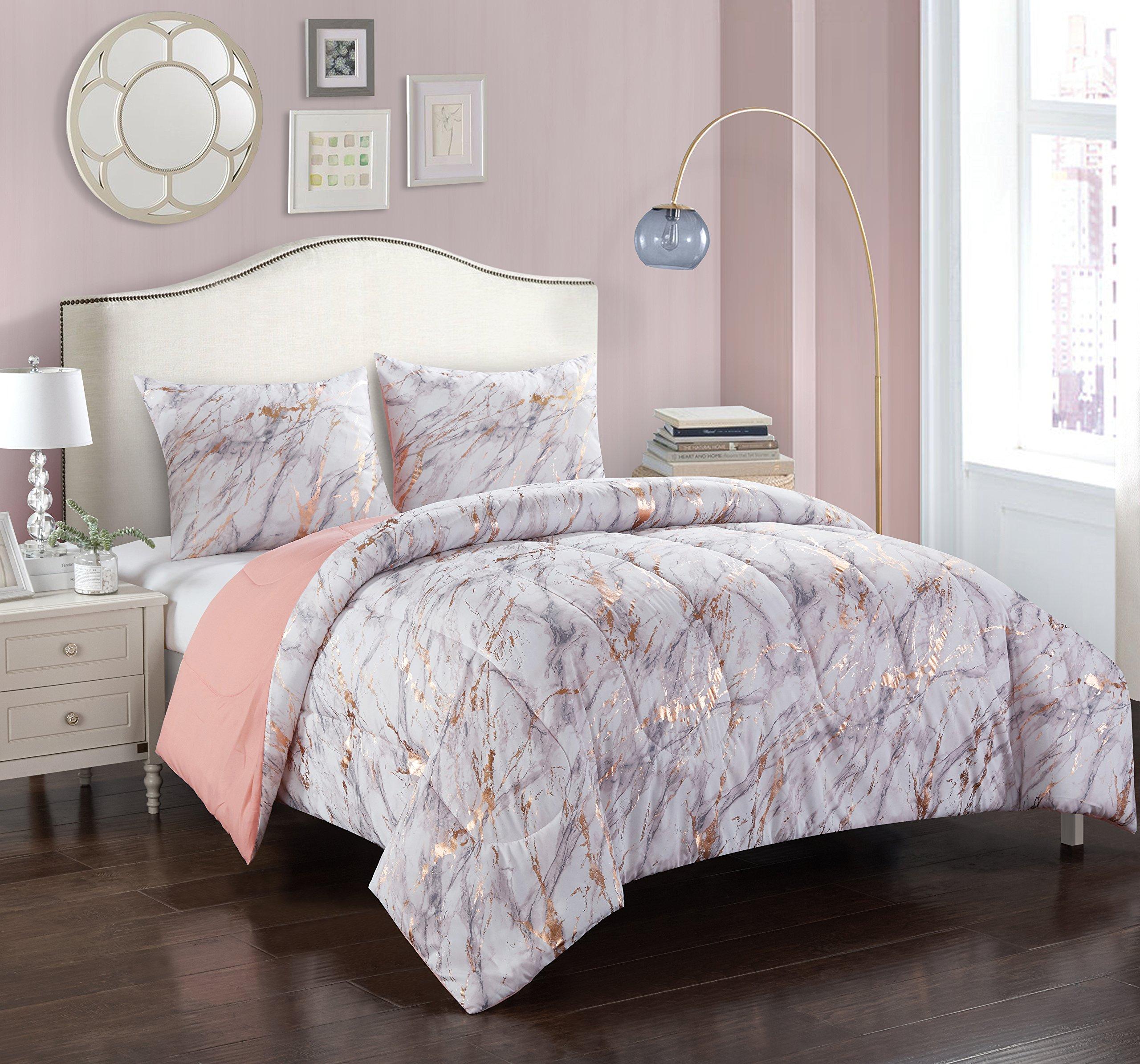 Pop Shop Marble Comforter Queen