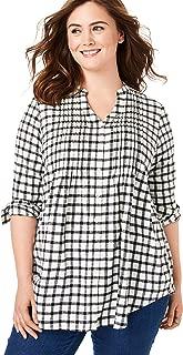 Best womens 4x flannel shirt Reviews