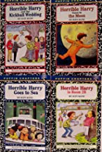 Horrible Harry Goes to the Moon / Horrible Harry and the Kickball Wedding / Horrible Harry in Room 2B / Horrible Harry Goes to Sea - 4 Book Set (Horrible Harry Series)