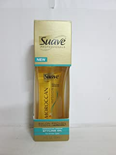 Suave Professionals Moroccan Argan Styling Oil